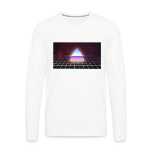 80s Retro - Men's Premium Long Sleeve T-Shirt