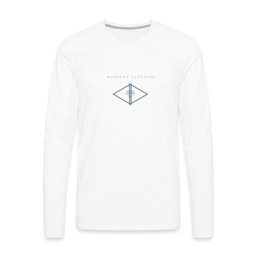 Bootleg Diamond Logo - Men's Premium Long Sleeve T-Shirt