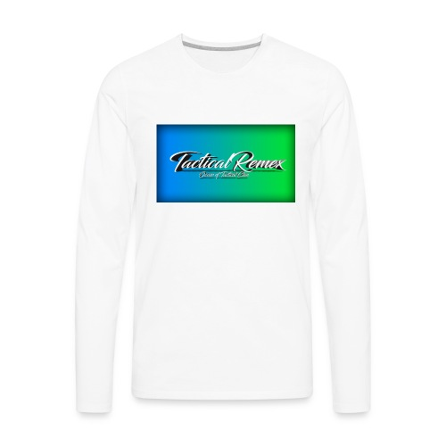My second shirt - Men's Premium Long Sleeve T-Shirt