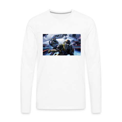 halo - Men's Premium Long Sleeve T-Shirt