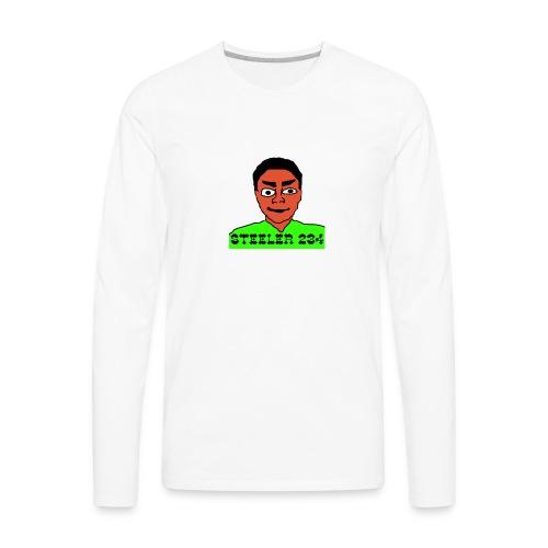 Steeler 234 Apparel - Men's Premium Long Sleeve T-Shirt