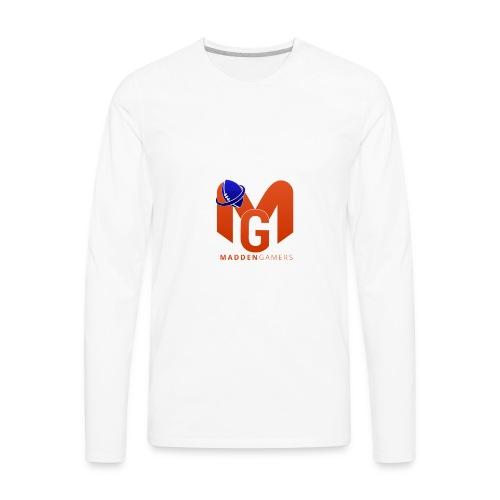 MaddenGamers MG Logo - Men's Premium Long Sleeve T-Shirt