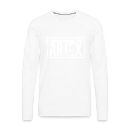 Artex Logo - Men's Premium Long Sleeve T-Shirt