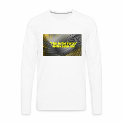 The vortex - Men's Premium Long Sleeve T-Shirt