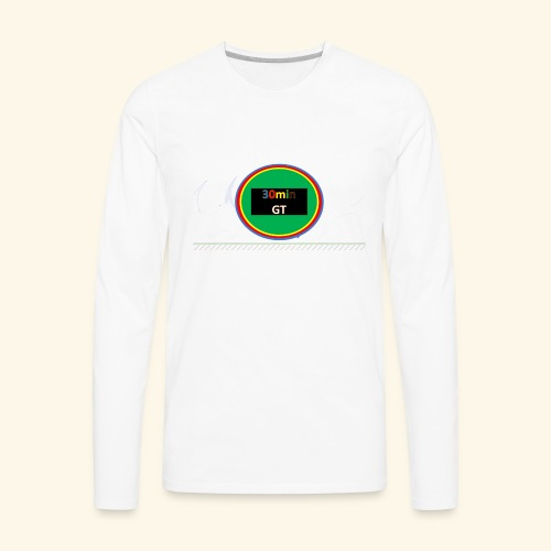 30Min Logo - Men's Premium Long Sleeve T-Shirt