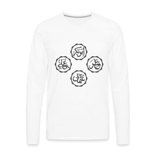 khulafaur - Men's Premium Long Sleeve T-Shirt