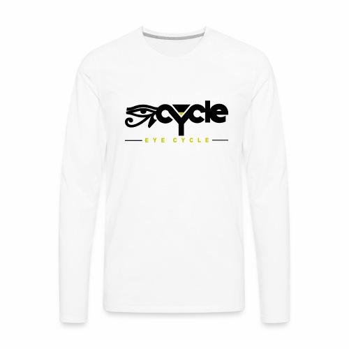 Variety LINE EYECYCLENYC tops, tee, long sleeve - Men's Premium Long Sleeve T-Shirt