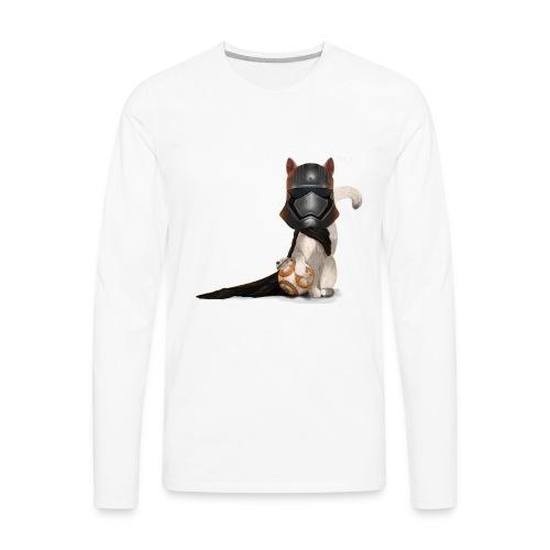 Captain Kitty - Men's Premium Long Sleeve T-Shirt