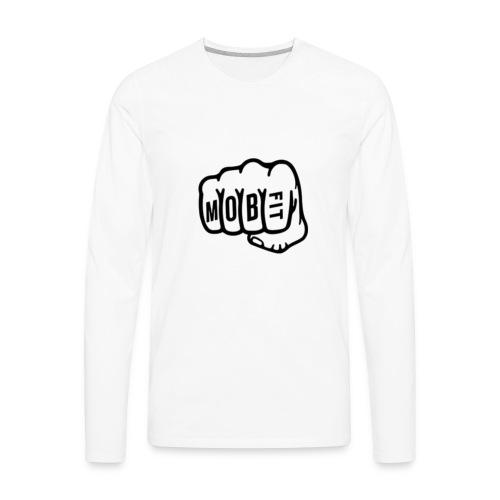 MOB FIT Fistbump - Men's Premium Long Sleeve T-Shirt