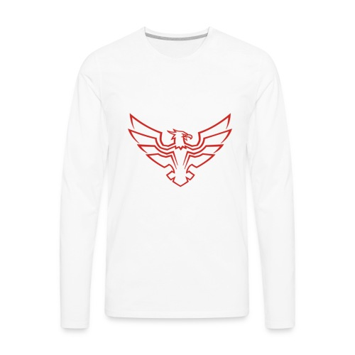 Kevin Be a Hawk [LIMTED] - Men's Premium Long Sleeve T-Shirt