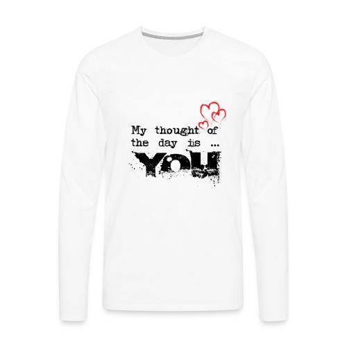 LOVE T-SHIRT - Men's Premium Long Sleeve T-Shirt