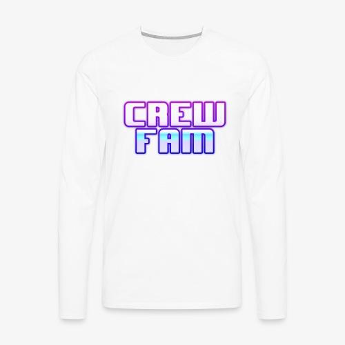 THE CREW FAM MERCHANDISE - Men's Premium Long Sleeve T-Shirt