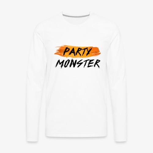 Party Monster Simple - Men's Premium Long Sleeve T-Shirt