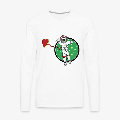 SMR spaceman tshirt - Men's Premium Long Sleeve T-Shirt