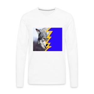 wolf 2 - Men's Premium Long Sleeve T-Shirt