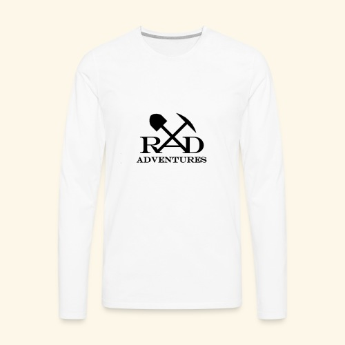 RAD Adventures - Men's Premium Long Sleeve T-Shirt