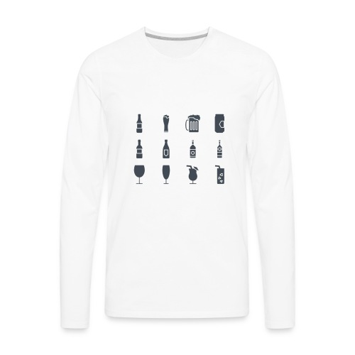 Alcohol - Men's Premium Long Sleeve T-Shirt