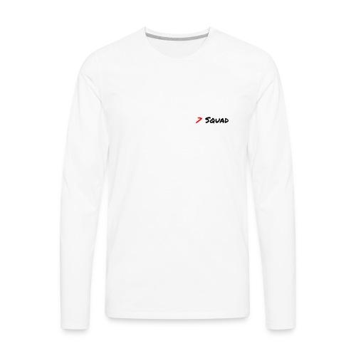 7 Squad Sholder Merch - Men's Premium Long Sleeve T-Shirt
