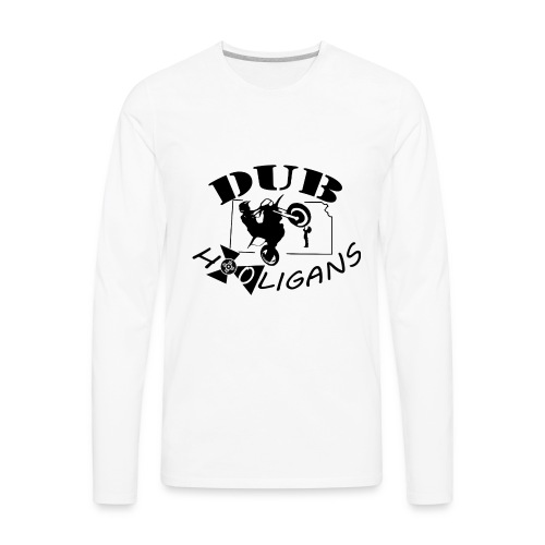 Dub Hooligans Logo - Men's Premium Long Sleeve T-Shirt