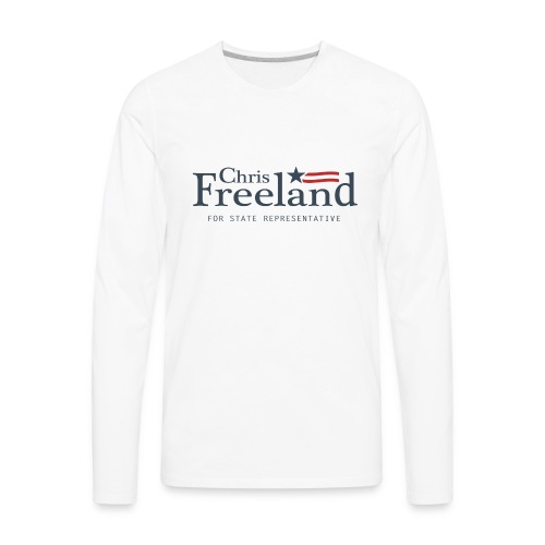 FREELAND FOR STATE REP - Men's Premium Long Sleeve T-Shirt