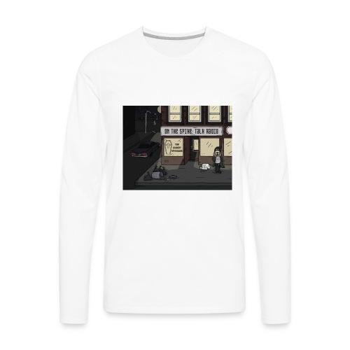 Corner Brad - Men's Premium Long Sleeve T-Shirt