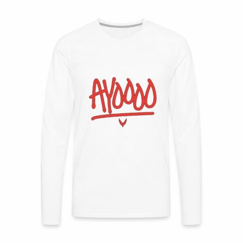 Ayooo Kids Clothing - Men's Premium Long Sleeve T-Shirt