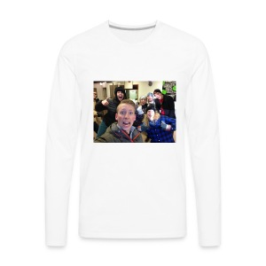 Clearwater friend going skating - Men's Premium Long Sleeve T-Shirt