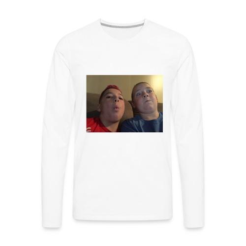 Friend and I - Men's Premium Long Sleeve T-Shirt