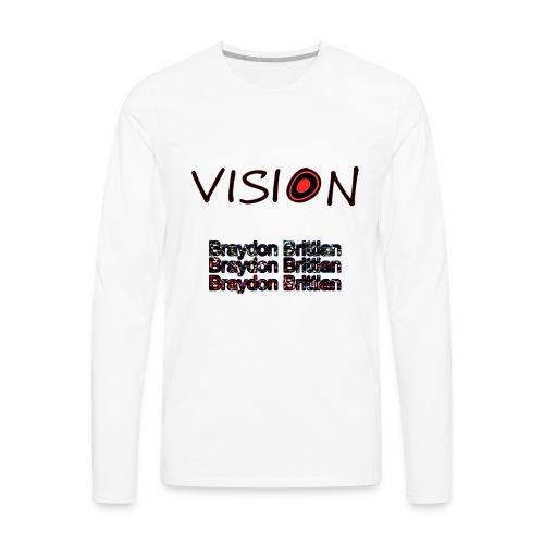 Insane Vision - Men's Premium Long Sleeve T-Shirt