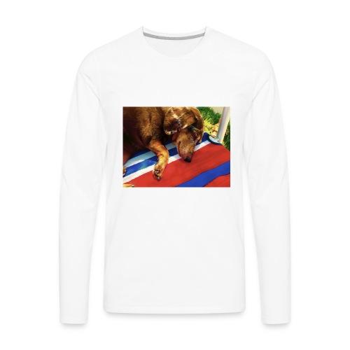 Treyden Dimeo - Men's Premium Long Sleeve T-Shirt