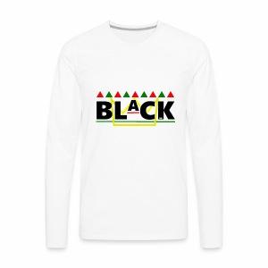 BLaCK Design - Men's Premium Long Sleeve T-Shirt