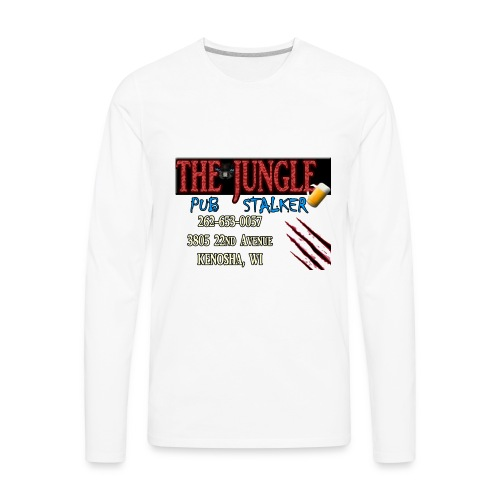 Bindelli's Jungle Pub Stalker - Men's Premium Long Sleeve T-Shirt