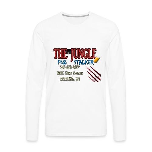 No Bar Jungle Stalker - Men's Premium Long Sleeve T-Shirt