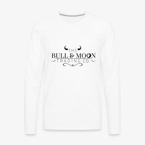 Bull & Moon Official T-Shirt - Men's Premium Long Sleeve T-Shirt