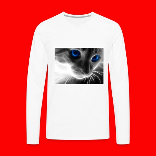 sly cat - Men's Premium Long Sleeve T-Shirt