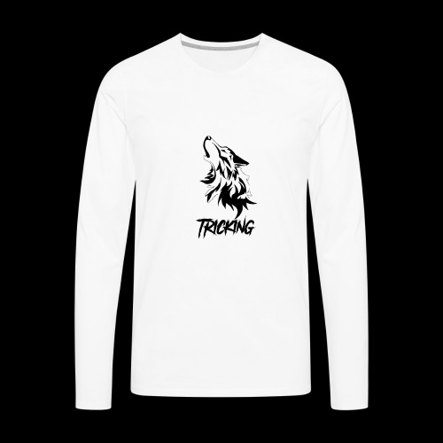 SilverWolf Tricking - Men's Premium Long Sleeve T-Shirt