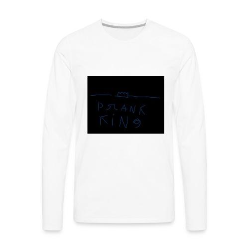 Prank king - Men's Premium Long Sleeve T-Shirt