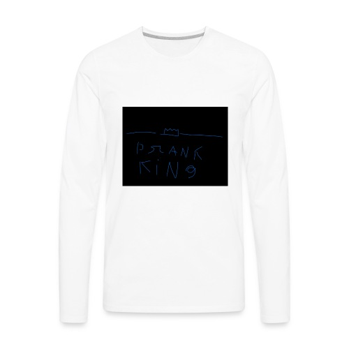 Prank king - Men's Premium Long Sleeve T-Shirt
