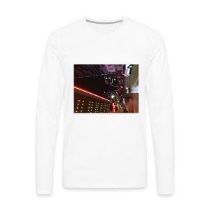 Moon Light Down Town - Men's Premium Long Sleeve T-Shirt