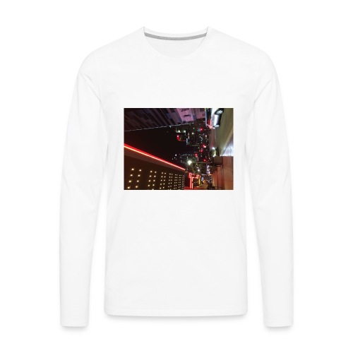 Moon Light Down Town - Men's Premium Long Sleeve T-Shirt