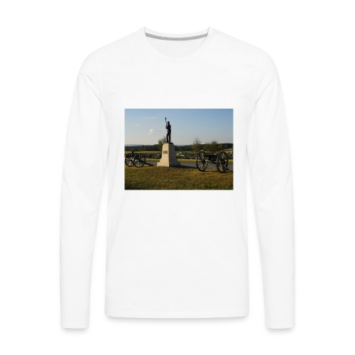 Union Artillery at Gettysburg - Men's Premium Long Sleeve T-Shirt
