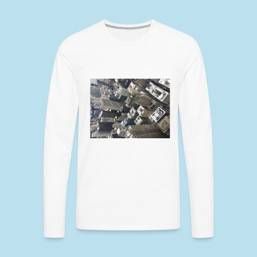 City - Men's Premium Long Sleeve T-Shirt