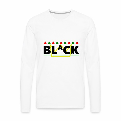BLaCK Design - Men's Premium Long Sleeve T-Shirt