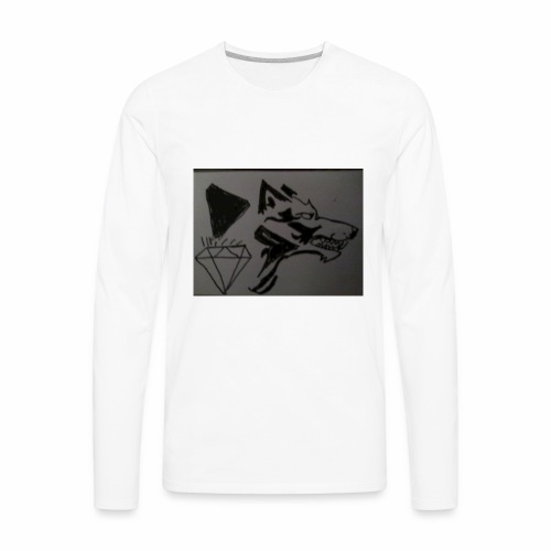Pet slickboss - Men's Premium Long Sleeve T-Shirt