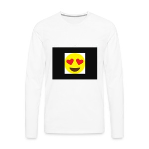 Love Heart - Men's Premium Long Sleeve T-Shirt