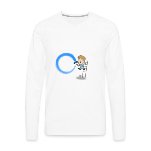 I'm A T1D - Men's Premium Long Sleeve T-Shirt