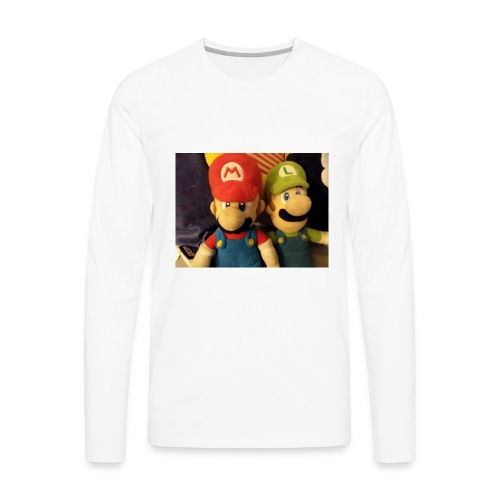 Mario - Men's Premium Long Sleeve T-Shirt
