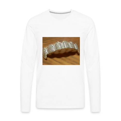 grilzz - Men's Premium Long Sleeve T-Shirt