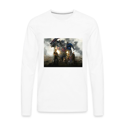 transformers 4 age of extinction - Men's Premium Long Sleeve T-Shirt