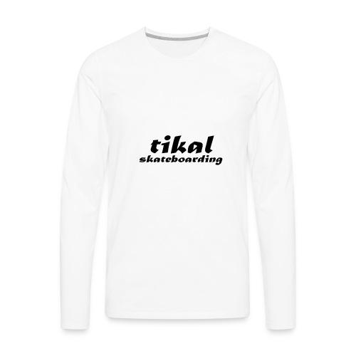 tikal brand logo - Men's Premium Long Sleeve T-Shirt